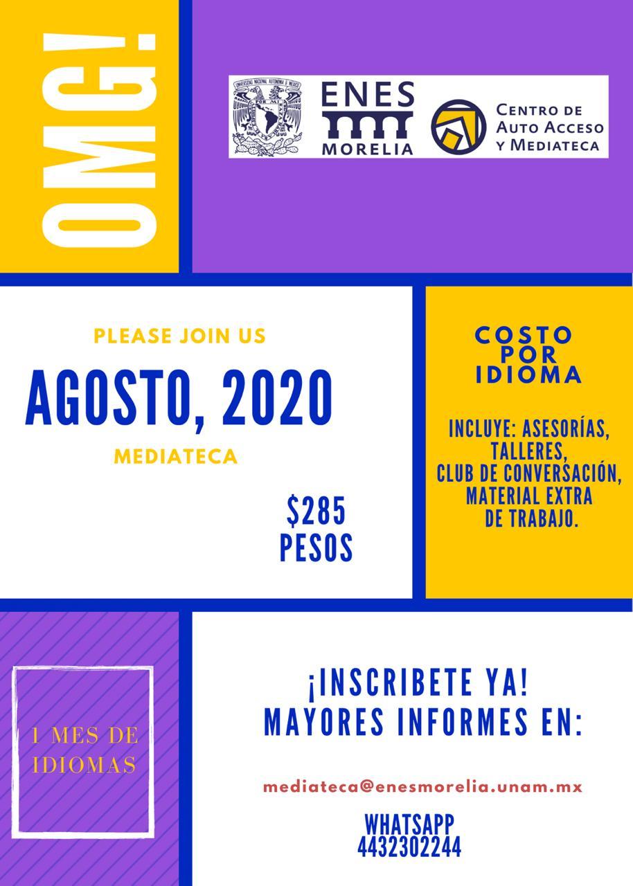 PRECIO PROMOCIÓN AGOSTO 2020